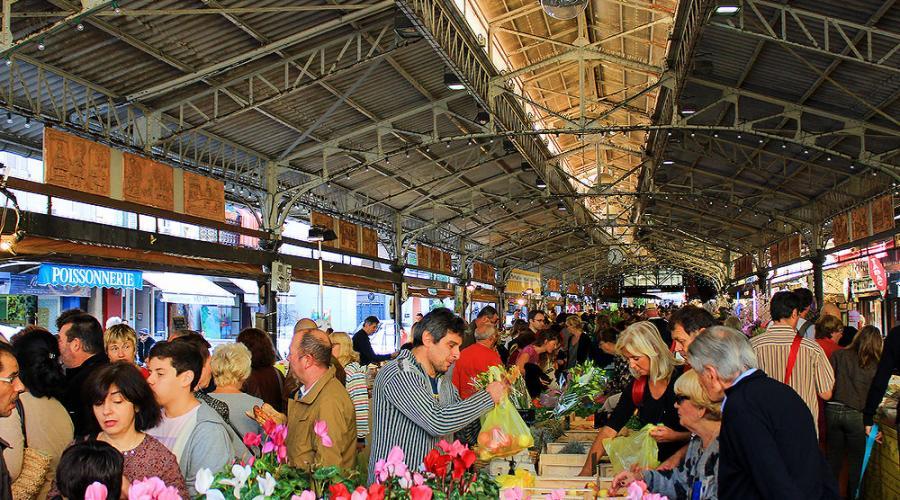 Food Market in Antibes