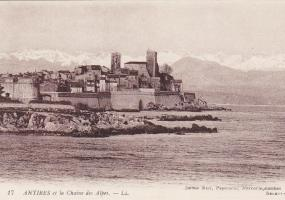 Antibes and the Chain of the French Alps