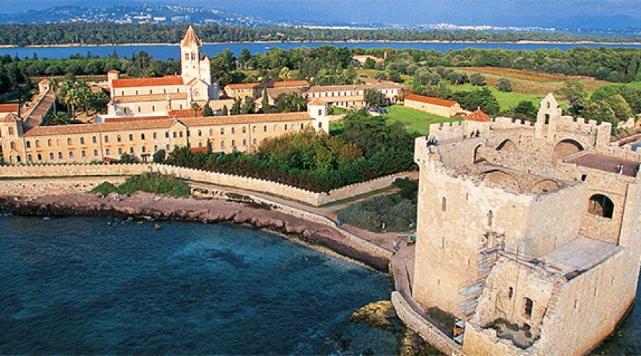 Fortified monastery of the Abbey of Lérins