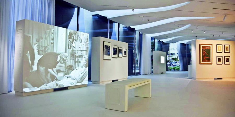 Jean Cocteau Museum, Interior, Menton