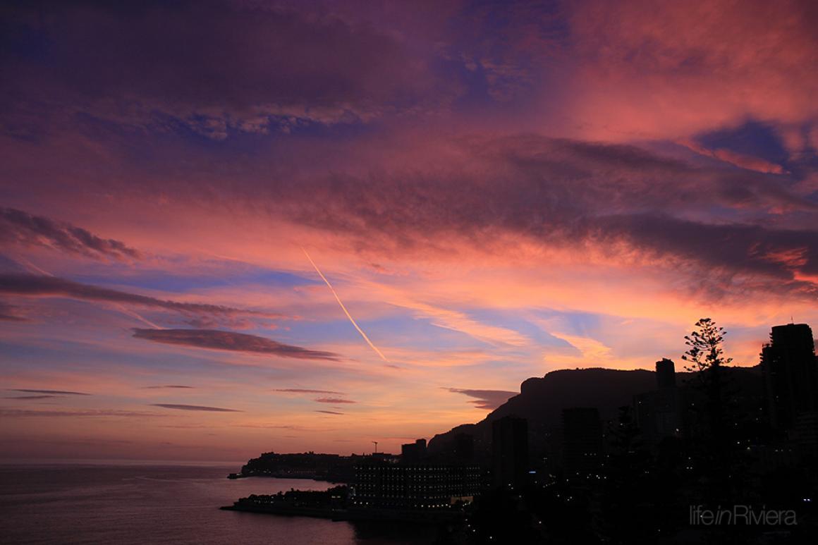 Last evening of year 2014 at Monaco