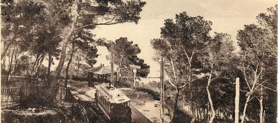 Roquebrune-Cap-Martin - Tramway Road Monte-Carlo to Menton