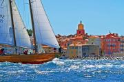 Saint-Tropez, yacht, sea