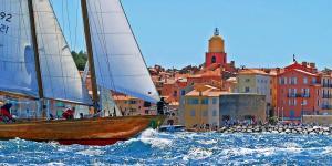 Saint-Tropez, yacht, sea