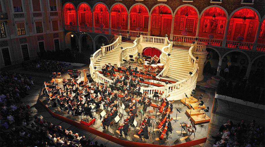 Summer Concerts at the Prince's Palace of Monaco