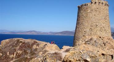 Torra di a Petra, Ile Rousse, Corsica