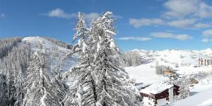 Valberg ski resort, France