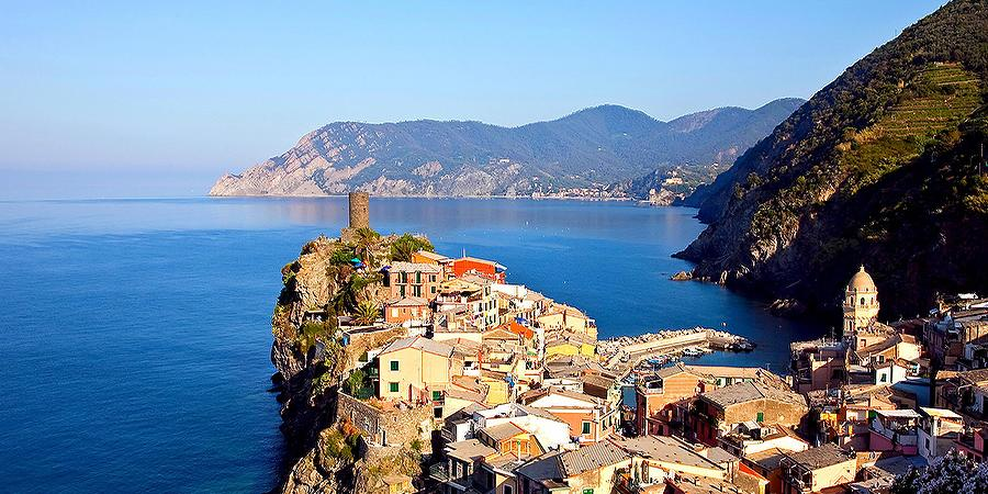 Driving along the Italian Riviera for the very first time
