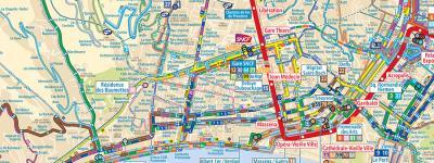 Lignes dAzur Tram Shuttle and Bus Route Maps